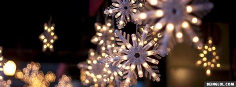 christmas light blackout caps christmas snowflake lights facebook cover timeline banner
