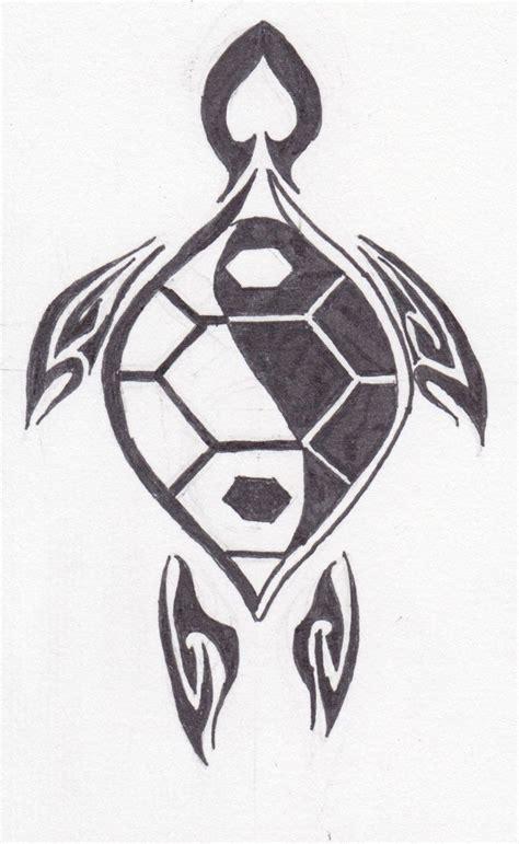 tribal yang tattoos tribal turtle drawings artworks yin yang abstract