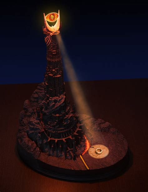 Eye Of Sauron Desk Lamp eye of sauron desk lamp the awesomer