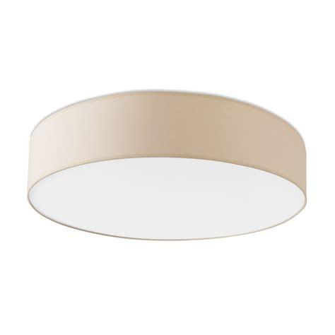 semi flush drum light led beige flush drum light