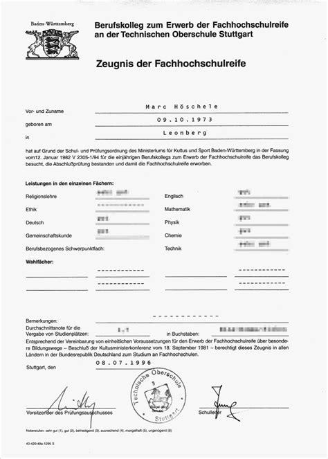 Lebenslauf Berufsschule Angeben Bewerbungsunterlagen Marc H 246 Schele