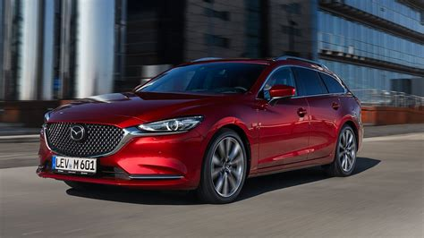 The Mazda6 Wagon Puts The Mercedes C Class Estate To