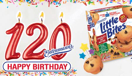 Birthday Sweepstakes - entenmann s 120th birthday celebration sweepstakes over 3 000 prizes hunt4freebies