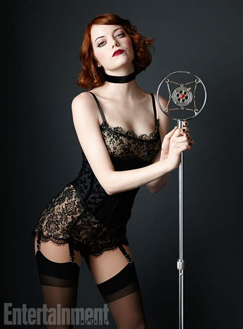 emma stone characters emma stone quot cabaret quot promo photo