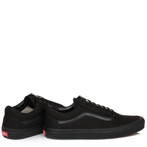 Nvmare Black Casual Pro Sneakers Original vans mens womens trainers canvas lace up school black