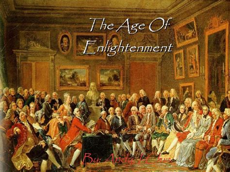 the age of the the age of enlightenment powerpoint