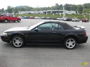 2000 Black Mustang 2000 Black Ford Mustang Gt Convertible 36547374