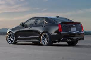 Cadillac Ats V Sedan 2016 Cadillac Ats V Sedan Rear Three Quarter Photo 14