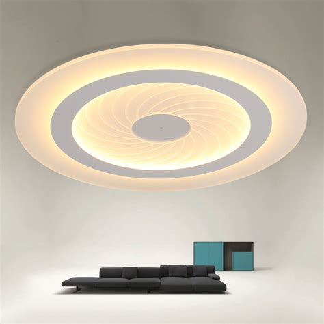 Modern Simple Led Ceiling Lights Acrylic Ultrathin Living Simple Ceiling Light