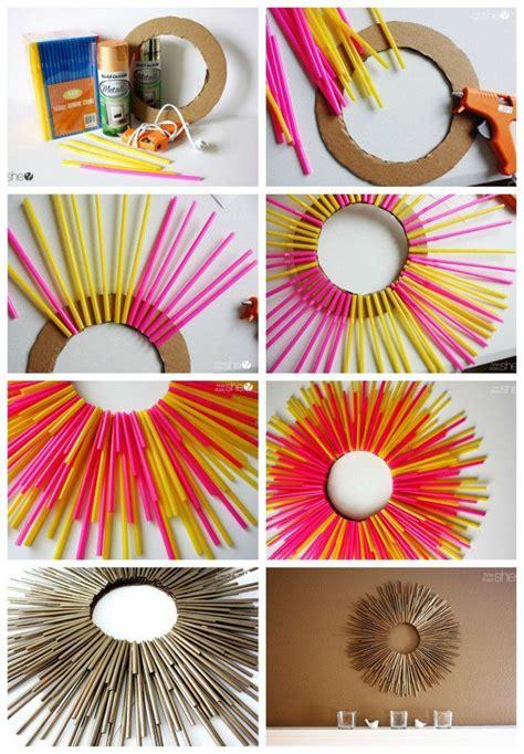 creative crafts 25 best ideas about straw crafts on