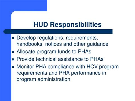 hud regulations section 8 ppt south carolina state housing finance and development