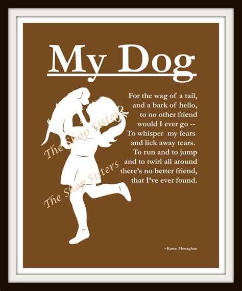 poems about dogs quotes and poems quotesgram