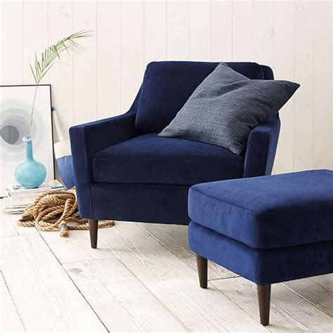 navy blue chair and ottoman pantone navy peony concepts and colorways