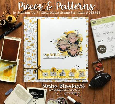 scrapbook layout patterns pieces and patterns wild about you scrapbook page