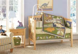 Dinosaur Crib Bedding Nursery Amazing Dinosaur Nursery With White Fur Rug