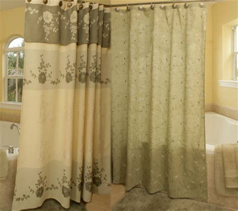 different shower curtains many different varieties of fabric shower curtains