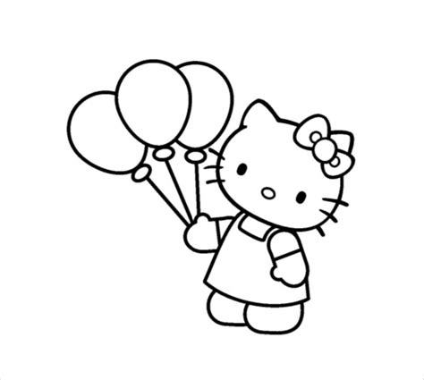 hello kitty coloring pages pdf hello kitty coloring page 10 free psd ai vector eps