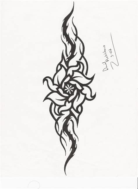 tribal pattern rose tribal rose and heart designs www imgkid com the image