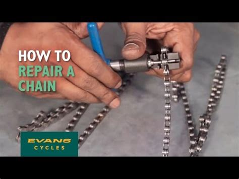 topeak how to fix a broken chain doovi