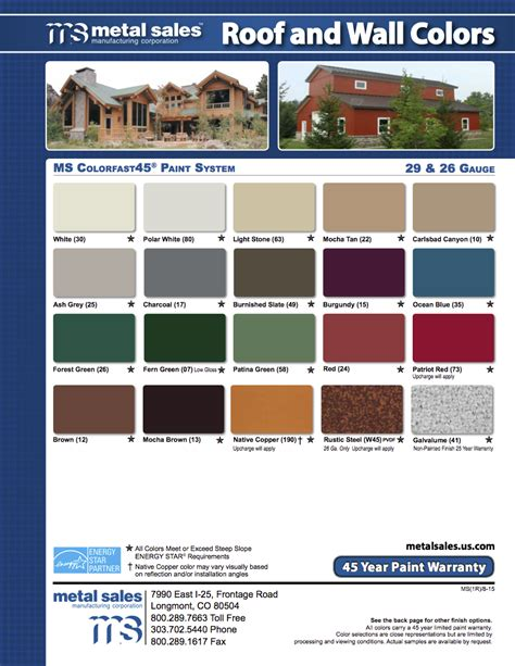 metal siding colors steel siding metal roofing items