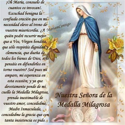 imagen virgen maria de la medalla milagrosa a nuestra se 209 ora de la medalla milagrosa esta oraci 243 n fue