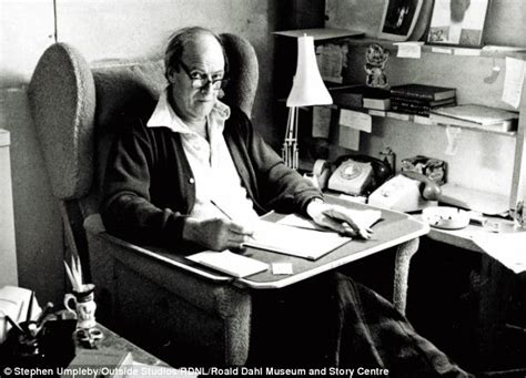 roald dahl writing paper roald dahl how did this tiny shed become the birthplace