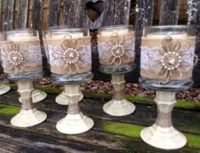 shabby chic wedding table decorations wedding accessories ideas