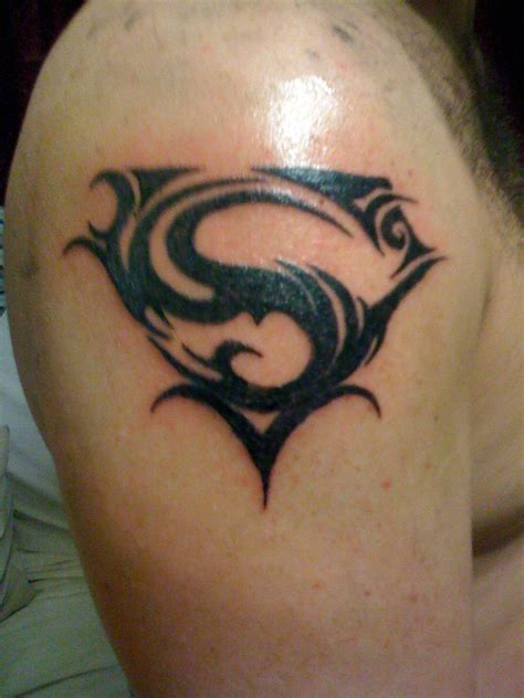 a tribal tattoo superman tattoos designs ideas and meaning tattoos for you