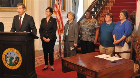 Blind Rehabilitation Jobs Governor Cooper Signs Law To Make Traffic Stops Safer For