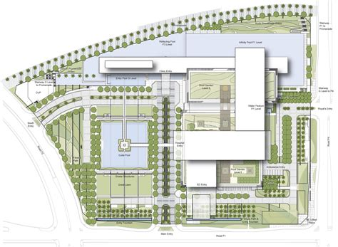 Health Center Floor Plan by Cleveland Clinic Abu Dhabi Hdr Archdaily