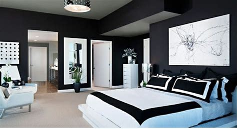 dekorieren master schlafzimmer 15 einzigartige schlafzimmer ideen in schwarz wei 223