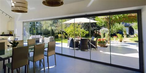 frameless patio doors frameless glass bifolding doors entrance doors