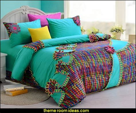 Colorful Beds by Decorating Theme Bedrooms Maries Manor Bedding Funky Cool Bedding Fashion Bedding