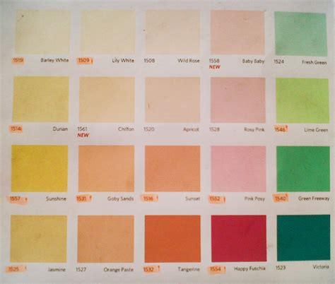 populer katalog warna cat  lux warna cat