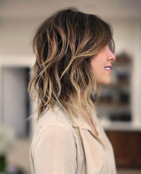 how to layer long hair above the shoulders 25 best ideas about medium shag haircuts on pinterest