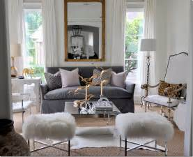 Grey And White Living Room by Color Outside The Lines Gray And White Living Rooms