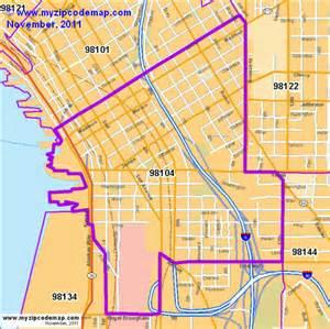 Seattle Washington Zip Codes Map by Similiar Seatac Zip Code Map Keywords