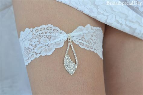 bridal wedding garters wedding clothing wedding garter set lace garter white
