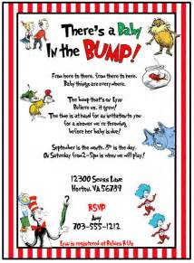 find dr seuss baby shower invitations dr seuss cat in the hat printable baby shower by