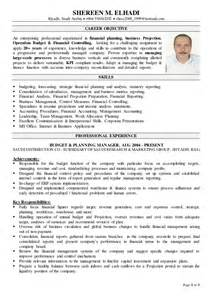 Financial Controller Sle Resume by Financial Controller Cv
