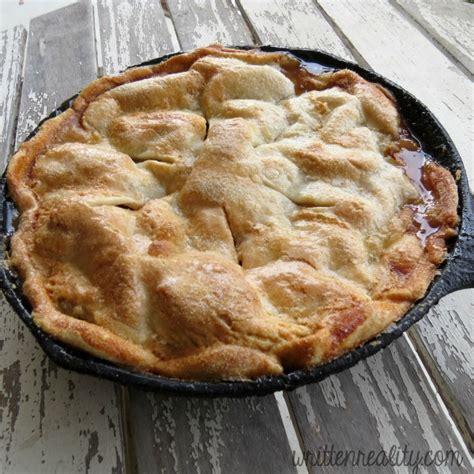 easy skillet apple pie recipe written reality