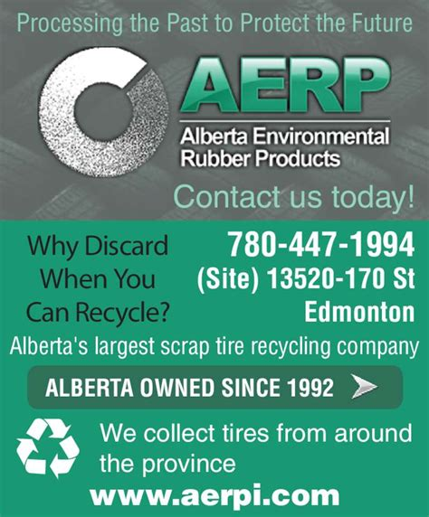 rubber st edmonton alberta environmental rubber products opening hours