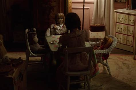 annabelle doll trailer annabelle 2 trailer explores the birth of the most evil