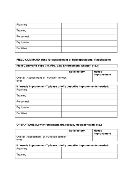 after event report template after and corrective report template free