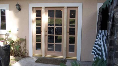 single hinged patio doors