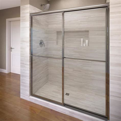 Basco Shower Doors Reviews Shop Basco Deluxe 38 In To 40 In Framed Shower Door At Lowes