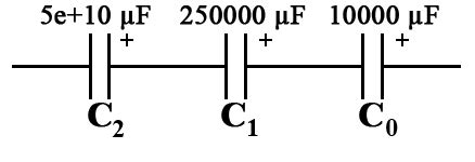 capacitor in series exle learn how to calculate capacitance of series capacitors tutorial definition formula and exle