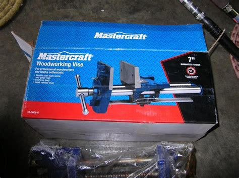 mastercraft woodworking new in the box 7 in mastercraft woodworking vise 267