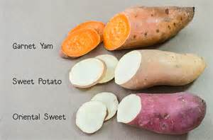 what color are yams sweet potatoes vs yams veggie primer