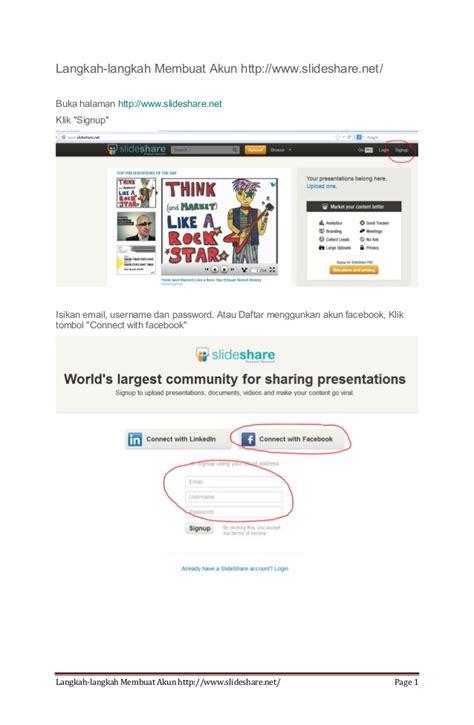 membuat akun wordpress com langkah langkah membuat akun www slideshare net